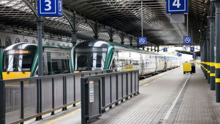 Shane Ross announces €1 billion investment in Ireland's rail network over five years