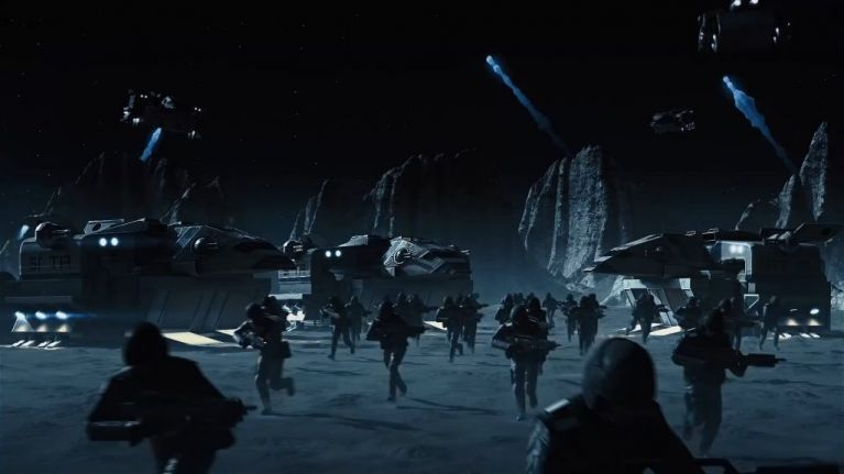 WATCH: The first trailer for the Starship Troopers video game has landed