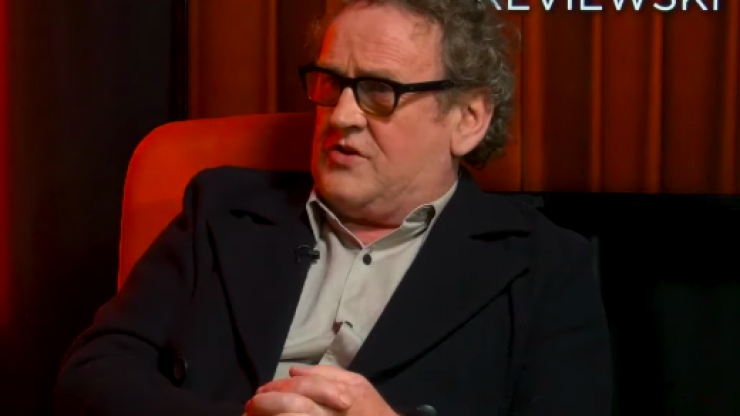 "Colm Meaney on the DUP and Brexit: ""I think they've shot themselves in the foot"""