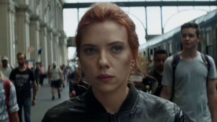 One scene from the Black Widow trailer hints at the arrival of another Avenger