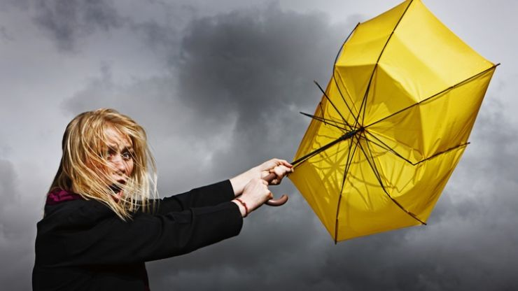 Status Orange weather warning issued for Donegal, Status Yellow warning issued for 11 counties