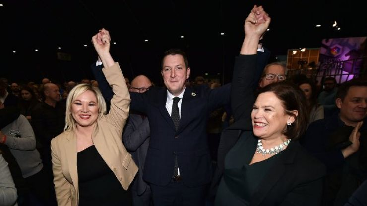 Northern Ireland now has more Nationalist than Unionist MPs for the first time