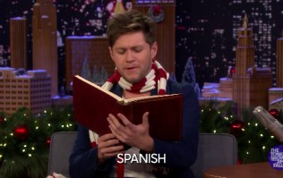 WATCH: Niall Horan nails reading The Night Before Christmas in loads of different accents
