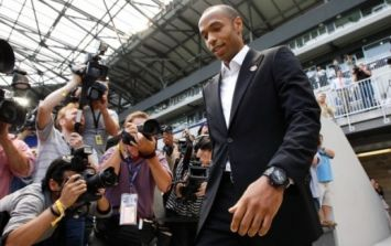 Video: Thierry Henry gets THAT arm covered in a massive tattoo