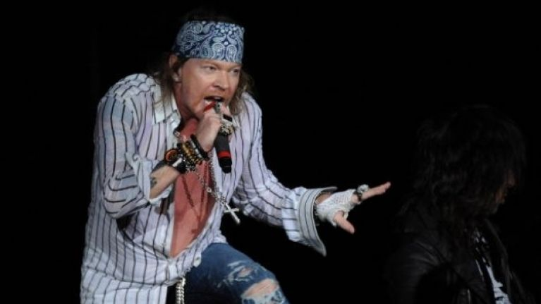 e6f57ead8 Guns N' Roses frontman in backstage confrontation   JOE is the voice ...