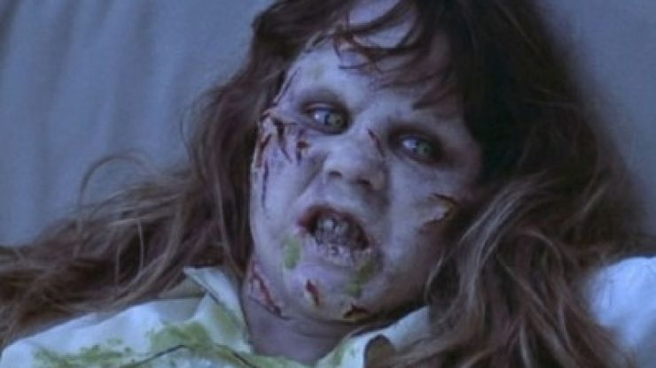 PIC: A girl used The Exorcist to pull brilliant prank on her boss