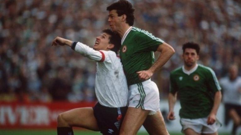 Lineker admits to shitting himself (literally) against Ireland at Italia '90