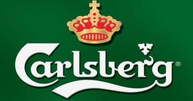 Carlsberg drop probably and announce new slogan and ad campaign