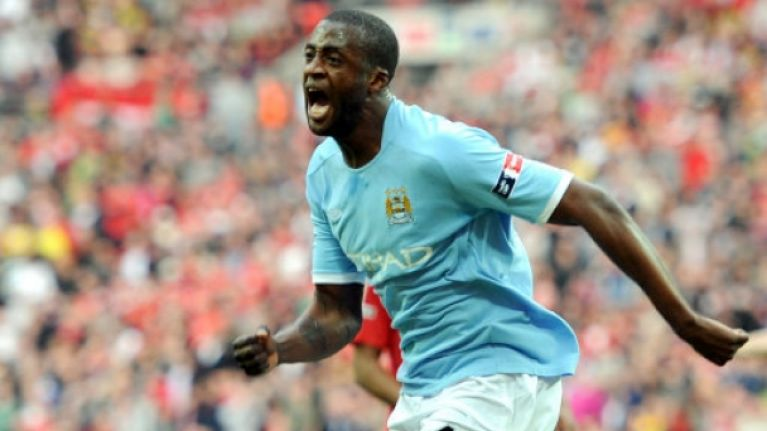 Video Proof That Man City Did Celebrate Yaya Toures Birthday With