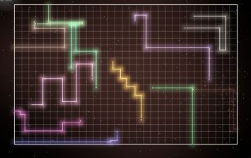 Stylish app Hard Lines takes Snake into the 21st century