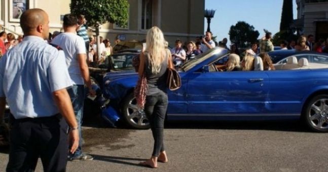 The world's most expensive car crash?