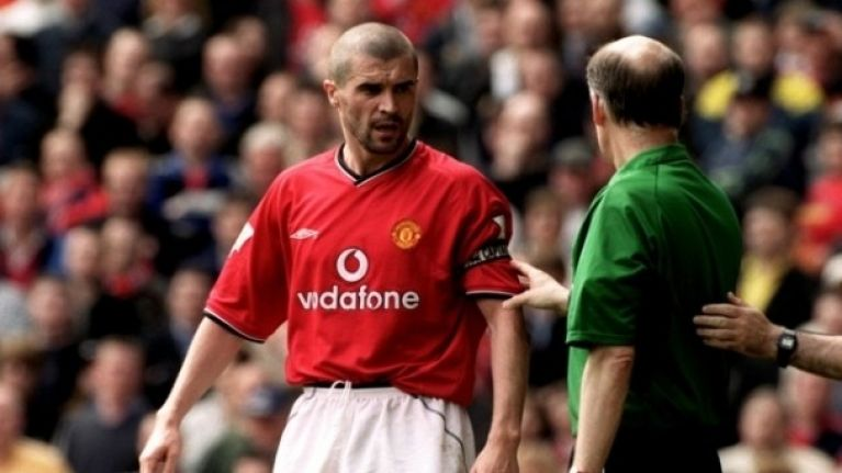 roy keane essay Leaving certi˜ cate english ordinary level examination paper roy keane's childhood seems to have been a happy one keane says that even trips into the.