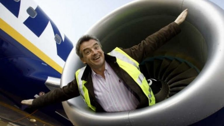 Ryanair carries half of all Spain's tourists