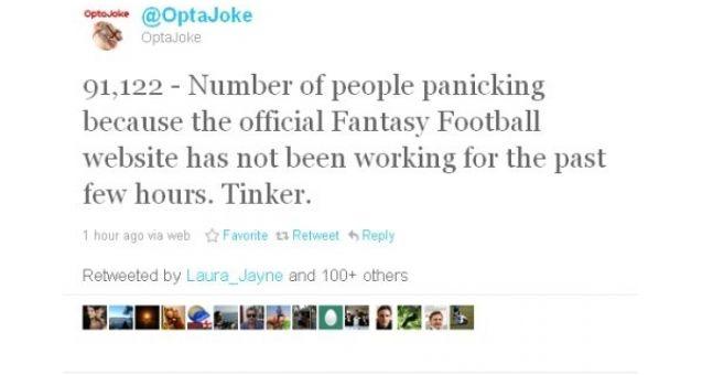 Fantasy Premier League site crashes at critical time