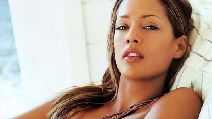 South African model Lorraine Van Wyk