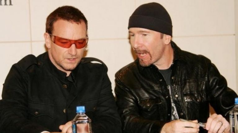 Bono and the Edge see Facebook stake jump