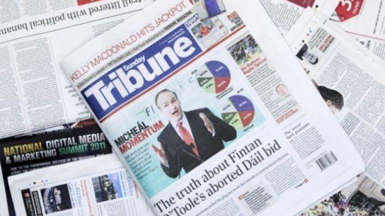 Mail on Sunday criticised for Sunday Tribune trick