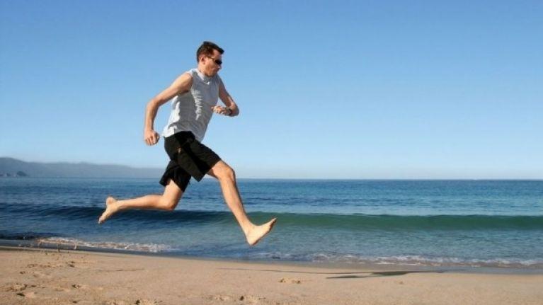 Aiden Leslie | Male feet, Men, Running