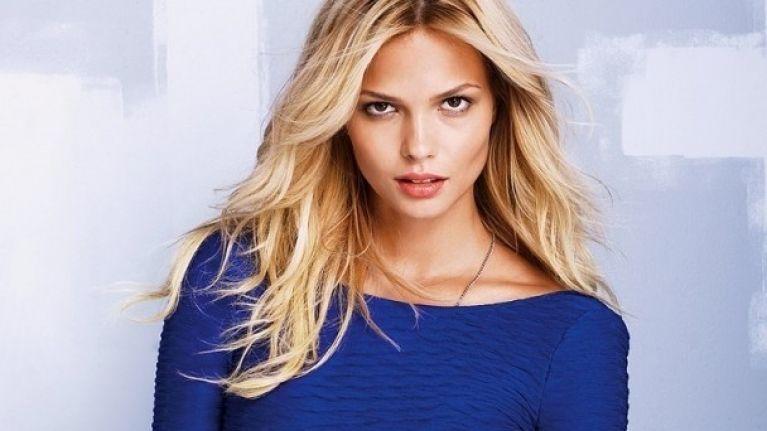 Victoria's Secret model Katsia Zingarevich