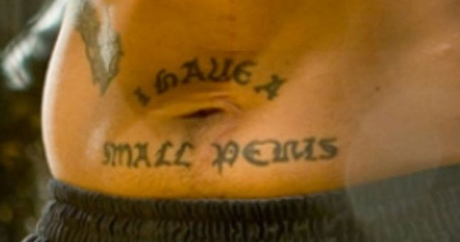 The five worst sporting tattoos