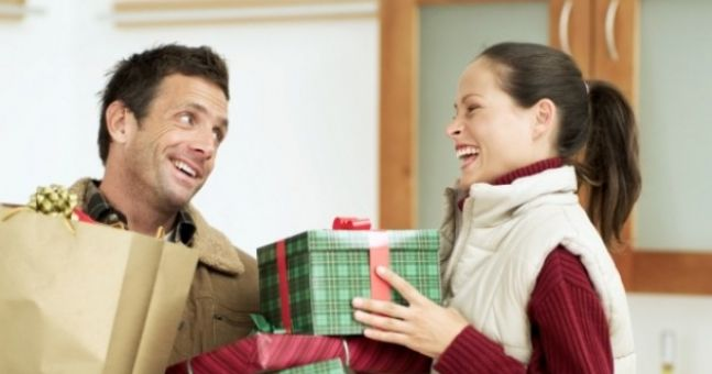 It's a man's world... when it comes to Christmas spending