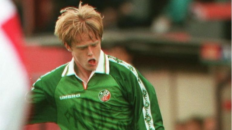 Irish Soccer's Most Memorable Moments, No 41: Duffer on the world stage, 1997