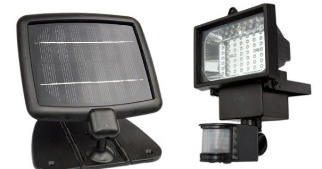 energy saving gadget solar powered security light