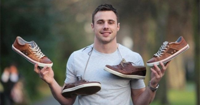 Tommy Bowe launches his third shoe collection with Lloyd and Pryce