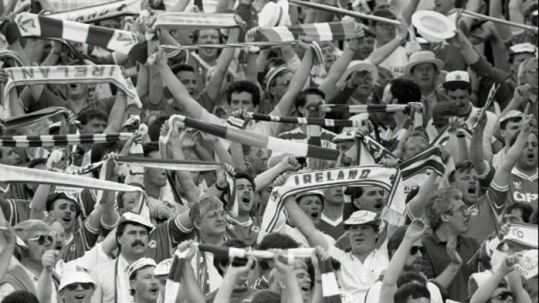 Irish Soccer's Most Memorable Moments, No 25: Joxer Goes To Stuttgart, 1988