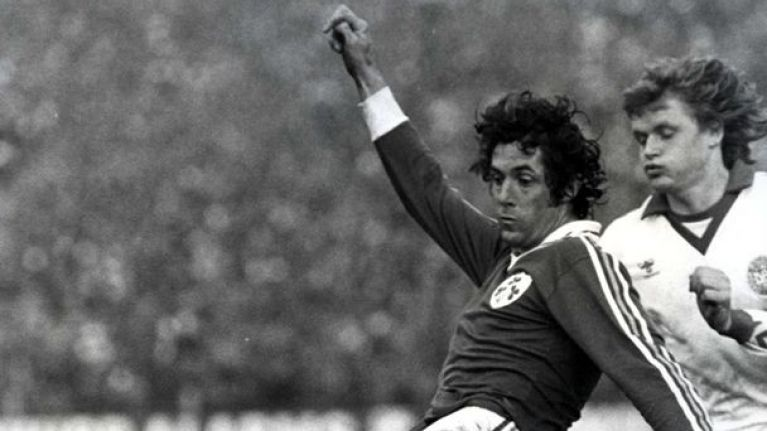 Irish Soccer's Most Memorable Moments, No 21: Don Givens' hat-trick v USSR, 1974