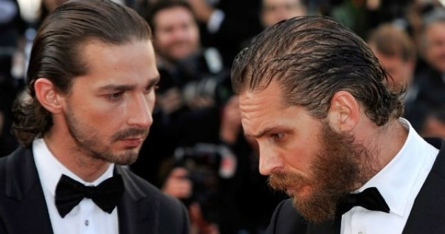 Shia LaBeouf gets serious beard envy at the Cannes Film Festival