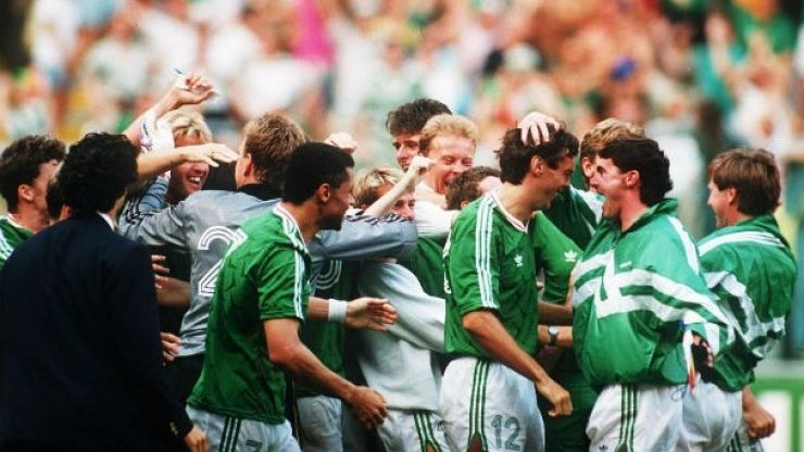 Irish Soccer's Most Memorable Moments, No 1: A Nation holds it breath,1990