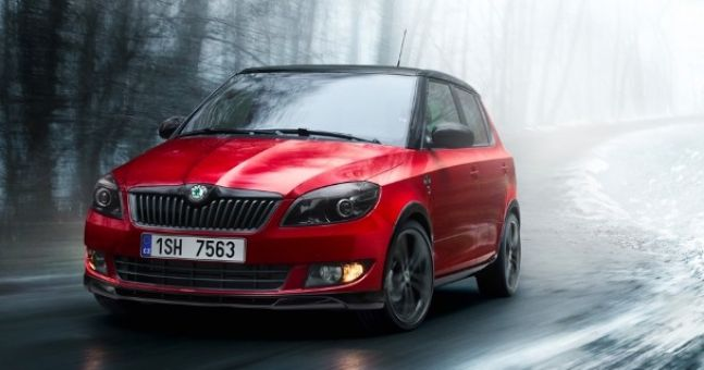 skoda fabia monte carlo release your inner rally driver. Black Bedroom Furniture Sets. Home Design Ideas