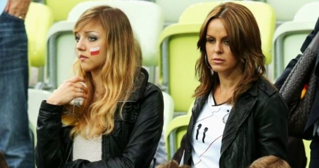 Euro 2012 Hot Fan of the Day: No, we haven't picked Merkel...