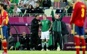 Derry unhappy: Gibson and McClean express disappointment with Euro experience