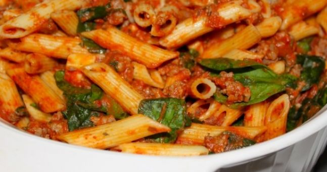 Healthy Recipe: Pasta with Tomato pesto