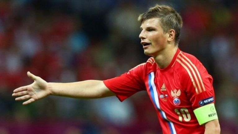 Trust Andrei Arshavin to prematurely reveal Don Fabio as the new Russia  manager 4de551544c38
