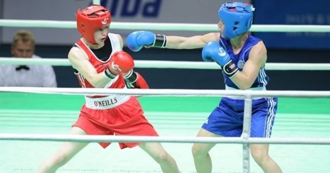 Video: What happened the last time Katie Taylor fought Sofya Ochigava