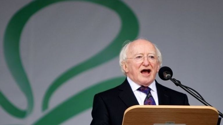 How did a two-year-old clip of Michael D Higgins calling someone a w**ker go viral?