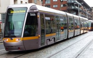 Video: Here's the aftermath from this morning's Luas crash