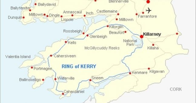 Ex-mayor wants the Ring of Kerry rebranded as tourists never leave it