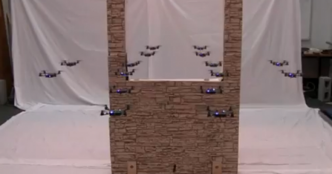 Video: What are nano quadrotors? We have no idea, but this is amazing