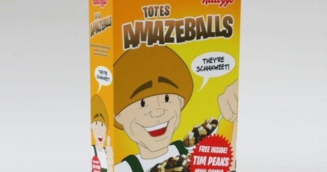 Kellogg's create Totes Amazeballs cereal
