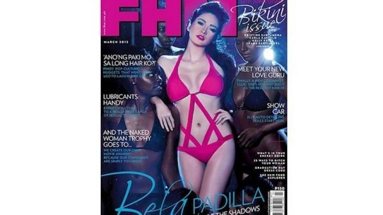 FHM pulls racy racist cover image in Philippines