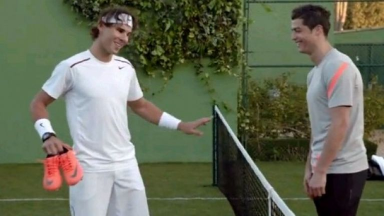 cf1a91a8e Video  Have you seen Cristiano Ronaldo take on Rafael Nadal in the new Nike  ad