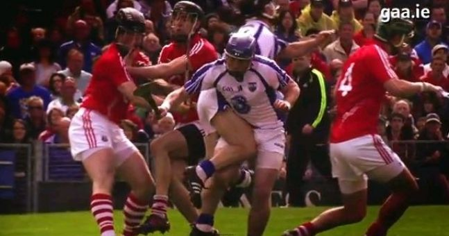 Missing the hurling already? This video might help