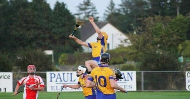 Gallery: An Aussie Rules style mark makes an appearance at a Hurling match in Sligo