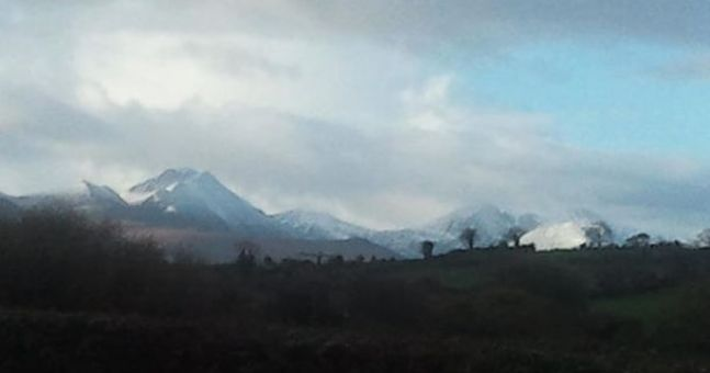 Winter's here as the first Irish snow pictures hit the internet