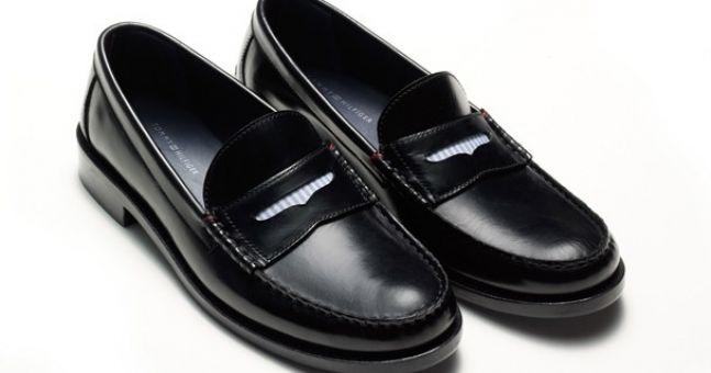 Tommy Hilfiger Penny loafers make a come-back