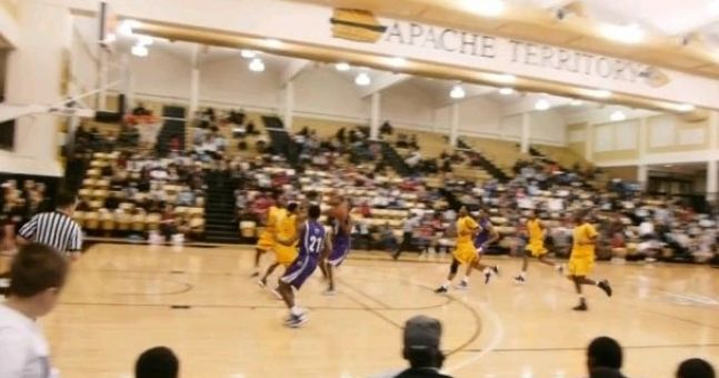 Video:  An amazing Michael Jordan-esque dunk from a college game in Texas